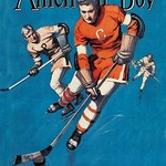 American Boy Hockey Cover - Art Print