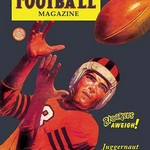 All-American Football Magazine - Art Print