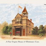 A Fire Engine House at Moderate Cost - Art Print