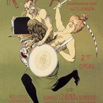 Woman and Pan with Drum by Carsten Ravn - Art Print