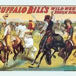 Buffalo Bill: Cowboy Fun - The Bronco Busters Busy Day - Art Print