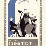 Concert Hall Trio - Art Print