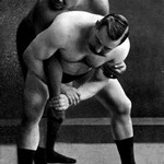 Wrist Lock: Russian Wrestlers - Art Print