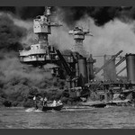 The USS West Virginia at Pearl Harbor by U.S. Navy - Art Print
