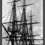 Rigging of the USS Constitution - Art Print