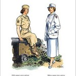 Women's Army Corps, 1954 - Art Print