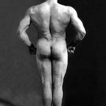 Bodybuilder's Back - Art Print