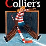 Young Girl Goalie by Colliers - Art Print