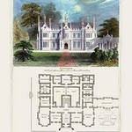 A Tudor Manor House, Henry VIII #2 by Richard Brown - Art Print