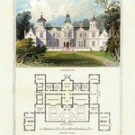 A Mansion in the Stuart Style, James I by Richard Brown - Art Print