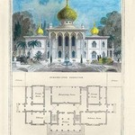 A Persian Pavilion by Richard Brown - Art Print