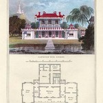 A Chinese Residence by Richard Brown - Art Print