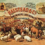 Halstead and Company Beef and Pork Packers by Richard Brown - Art Print