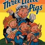 The Three Little Pigs by Milo Winter - Art Print
