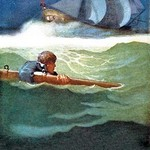 Wreck of the Covenant by N.C. Wyeth - Art Print