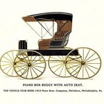 Piano Box Buggy with Auto Seat - Art Print