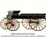 Three-Spring Delivery Wagon - Art Print
