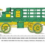 Flour Truck w/ removable sides and stationary driver's seat - Art Print