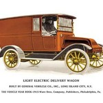 Light Electric Delivery Wagon - Art Print