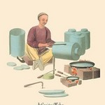 A Canister Maker by George Henry Malon - Art Print