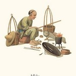 A Tinker by George Henry Malon - Art Print