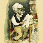 Death in the Headlines by F. Frusius M.D. - Art Print