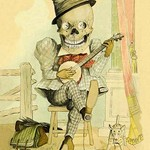 Death Picks a Tune by F. Frusius M.D. - Art Print