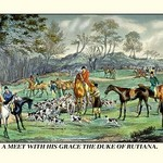 A Meet with His Grace the Duke of Rutiana by Henry Thomas Alken - Art Print