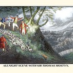 All Night Hunt with Sir Thomas Mostyn by Henry Thomas Alken - Art Print