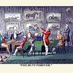 A Toast to Fox Hunting by Henry Thomas Alken - Art Print