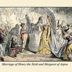 Marriage of Henry the Sixth And Margaret of Anjou by John Leech - Art Print