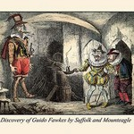 Discovery of Guido Fawkes by Suffolk and Mounteagle by John Leech - Art Print