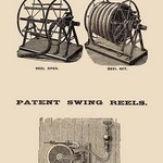 Automatic Hose Reels and Patent Swing Reels - Art Print