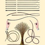 Catheters by Jules Porges - Art Print