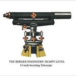 The Berger Engineers' Dumpy Level - Art Print