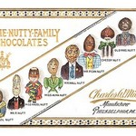 The Nutty Family Chocolates - Art Print
