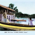 Yankee Model Canoe - Art Print