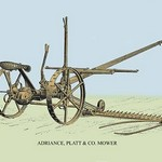 Adriance, Platt and Co. Mower - Art Print