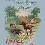 Adriance Binders, Reapers and Mowers - Art Print