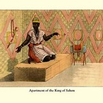 Apartment of the King of Salum - Art Print