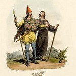 A Belgic Briton and One of the Cassiterides - Art Print