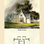 A Bailiff's Cottage by J. B. Papworth - Art Print