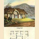 A Cottage Orne #4 by J. B. Papworth - Art Print