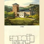 A Villa #3 by J. B. Papworth - Art Print
