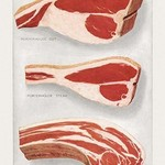 Beef: Porterhouse and Chuck - Art Print