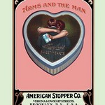 Arms and the Man - Tin by Buedingen Box & Label Co. - Art Print