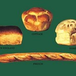 New England, Cottage, Domestic, and French Breads - Art Print