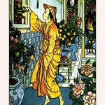 Aladdin Secures The Lamp by Walter Crane - Art Print