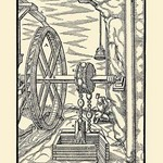 De Re Metallica Plate 14: The Drawing Chain - Art Print