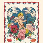 Cupid and the Doves - Art Print